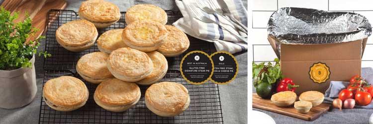 Get Australia's best gluten free pies delivered to your door!